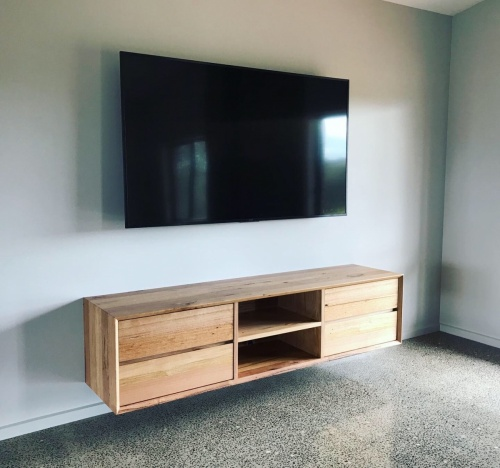 Floating TV unit
